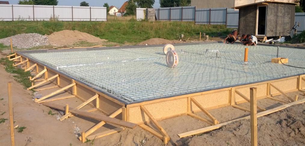 Фундамент для дома из профилированного бруса