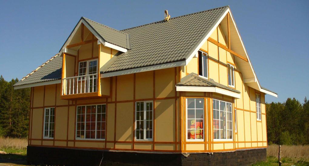 Особенности каркасно-щитового дома