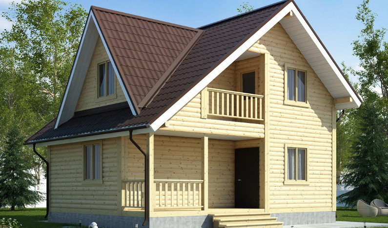 Брусовой дом по цене каркасного