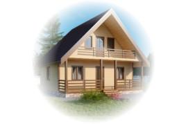 Дачные щитовые дома
