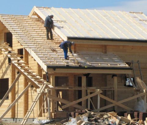 Кровельные работы, строительство крыш