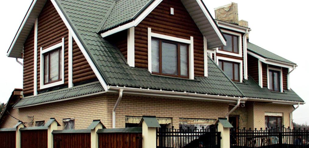 Виды крыш деревянных домов